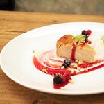 パプリカ食堂ヴィーガン - 豆腐のチーズケーキ(チーズ不使用)