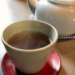 base cafe - 番茶