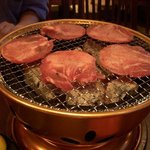 炭火焼肉 ごくう - 塩タン