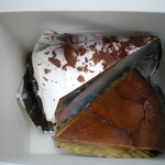 エレファントスイーツ - チーズケーキとバナナタルト