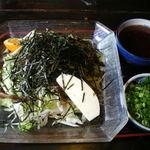 花椿 - 料理写真:1日10食のつけ麺
