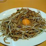 阿羅漢 - 料理写真:焼きそば(生卵入)