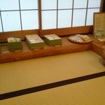 萬御菓子誂處 樫舎 - 店内(*^^*)和菓子いろいろー
