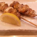 かやしま - 比内地鶏の塩焼き