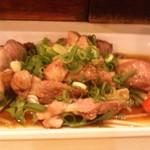 かやしま - 朝挽き地鶏のたたき