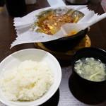 味覚 - 味覚石焼麻婆豆腐(750円)