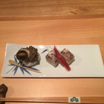 53003044 - サザエ 釧路さんまの棒寿司