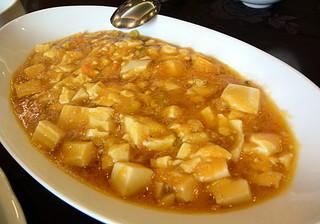陳餐閣 - 上海カニ味噌と豆腐のあんかけ