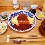カフェ ニット - 料理写真:ランチ:オムライス