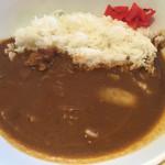 カフェ・スコーラ - ランチ シングルセット(¥1350+¥150)→淡路島牛すじカレー