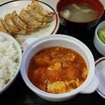53006212 - 海老チリ玉子定食! 698円