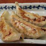 ラーメン 西海 - 西海餃子3個200円