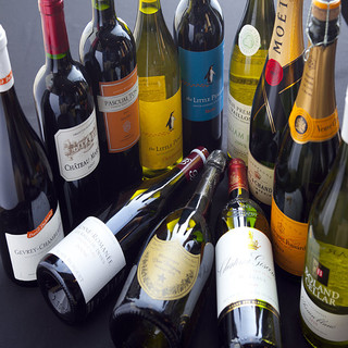 熟成肉にぴったりの厳選ワイン