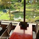 柿の木坂 更科 - 2016 柿の木坂 更科 小岩店  店内からの景色
