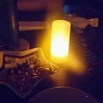 星カフェ SPICA - 真っ暗です、ミックスナッツ