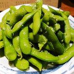 博多もつ次郎 - 茶豆