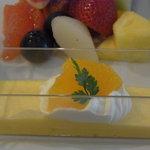 フルーツカフェ TOO BOO - オレンジのムース