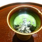 祇園 又吉 - 海胆蕎麦