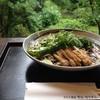 芳汕 - 料理写真:冷やしぶっかけ蕎麦  九条ねぎ、万願寺とうがらし等、野菜たっぷりの夏蕎麦です!