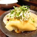 串あげ ムタヒロ 4号店 - 麺のお刺身
