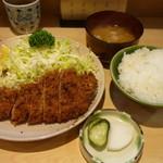 丸一 - ロースかつ定食