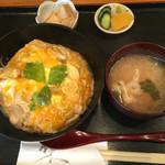 鳥勝 - ワンコイン若鶏親子丼(500円)