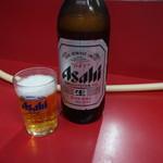 焼肉 たつみ - 瓶ビール♪