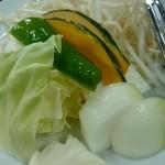 ふくろう亭 - 野菜焼き