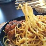 53022668 - 早く食べないと細麺パスタが…カチカチ(笑)