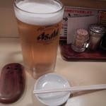 酒場 かっぱ - 生ビール大ジョッキ