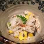 翔地 - 7月の鮎飯