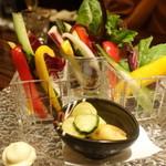 53024100 - 季節の有機野菜を使ったバーニャカウダ