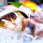 魚料理みうら - 銚子にノッてイワシのお刺身