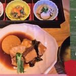 鯛めし魚然 - 煮魚膳