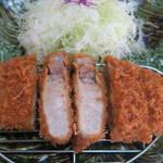 庄内 - 厚切りロースカツ定食1,580円