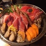 53026856 - 鮮魚の寄せ鍋
