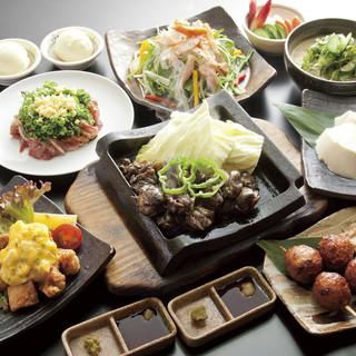 【ご宴会】品数豊富なコース料理と飲み放題プラン