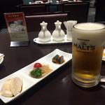 唐菜 - ビールセットの一部 ビールと冷菜