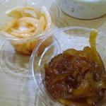 モティ - チャツネと玉葱アチャール