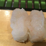 寿司源 藤沢大庭店 - なんと白エビだよ!
