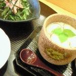 5303723 - 小鉢と茶碗蒸し
