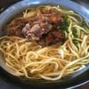 パーラー美々 - 料理写真:軟骨ソーキソバ750円