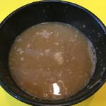 大黒家 - スープ割  温めて出してくれるのでありがたい
