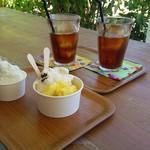 由布島茶屋 - 水出しアイスコーヒー