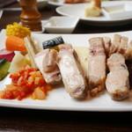 ビストロ felice - 料理写真:白金豚のロースト