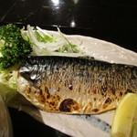 日本料理 竹むら - 鯖焼きUP