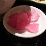 日本料理 竹むら - 漬物