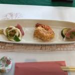ハウスイゲ - 料理写真:最初の一皿
