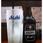 もつ焼き 肉の佐藤 - 「ホッピーセット」(2016.06)