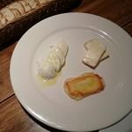 ザ・ベイスメント - チーズ盛り合せ